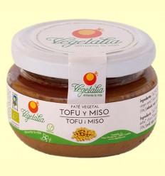 Paté de Tofu i Miso Bio - Vegetalia - 110 grams