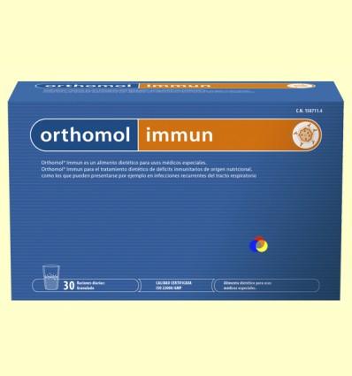 Orthomol Immun - Laboratorio Cobas - 30 sobres
