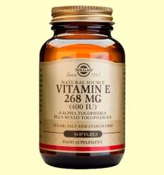 Vitamina E 268 mg 400 UI - Solgar - 250 càpsules