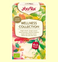 Wellness Collection - Yogi Tea - 18 bossetes d'infusió