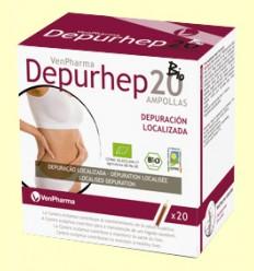 Depurhep 20 Bio - Depuratiu - VenPharma - 20 ampolles