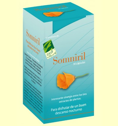 Somniril - Descans Nocturn - 100% Natural - 30 càpsules