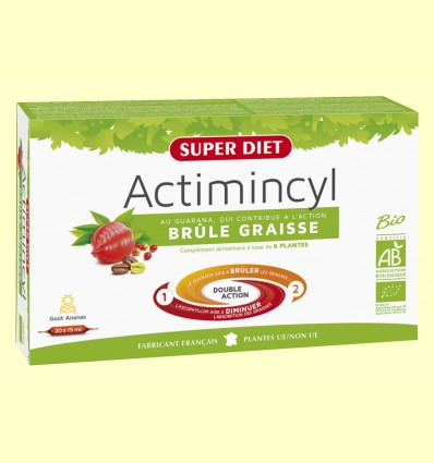 Actimincyl Bio - Crema Greix - Super Diet - 20 ampolles
