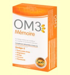 OM3 Memòria - Super Diet - 15 perles + 15 càpsules