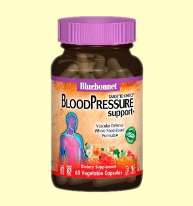 Blood Pressure Support - Pressió Arterial - Bluebonnet - 60 càpsules