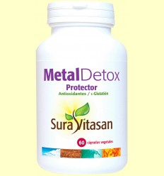 Metall Detox Protecto - Sura Vitasan - 60 càpsules