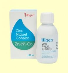 Oligoelements Zinc + Níquel + Cobalt - Ifigen - 150 ml