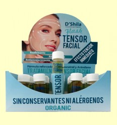 Flash Tensor facial amb Col·lagen i elastina - D'Shila - 10 ml