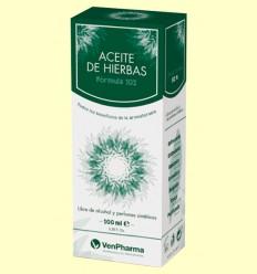 Oli d'Herbes - Fórmula 102 - Venpharma - 100 ml