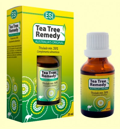 Tea Tree Remedy - Oli de l'Arbre del Te - Laboratoris Esi - 25 ml