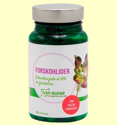 Coleus Forskohlíder - Naturlider - 60 càpsules