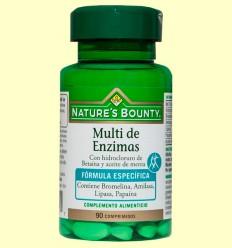 Multi de Enzims amb Betaïna i Oli de Menta - Nature 's Bounty - 90 càpsules