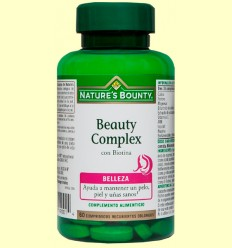 Beauty Complex amb Biotina - Nature's Bounty - 60 càpsules