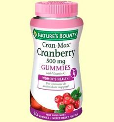 Cran-Max Nabiu Vermell 500 mg - Nature 's Bounty - 60 càpsules