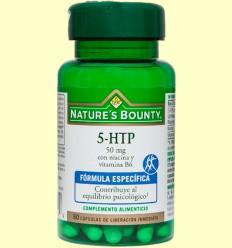 5-HTP 50 mg amb Niacina i Vitamina B6 - Nature 's Bounty - 60 càpsules