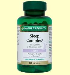 Sleep Complex amb Valeriana i Bàlsam de llimona - Nature 's Bounty - 60 càpsules