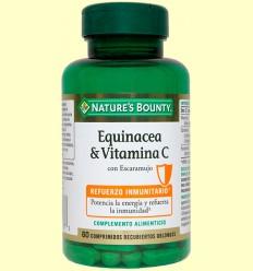 Equinacea & Vitamina C - Nature 's Bounty - 60 càpsules