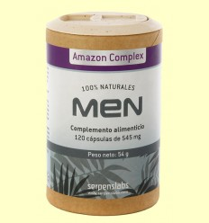 Men Amazon Complex - Serpens - 120 càpsules