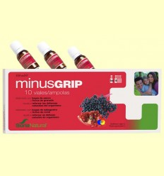 Minusgrip - Per reforçar les defenses - Soria Natural - 10 vials