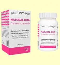 Natural DHA Embaràs i Lactància - Puro Omega - 240 perles