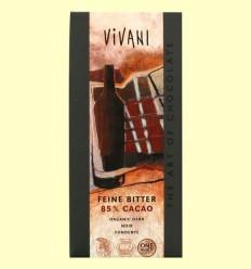 Xocolata Negre 85% Cacau Eco - Vivani - 100 grams *
