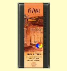 Xocolata Negre Ecològic Superior 70% Cacau - Vivani Ecuador - 100 grams *