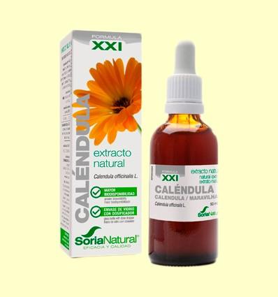 Calèndula Fórmula XXI - Extracte de Glicerina Vegetal - Soria Natural - 50 ml