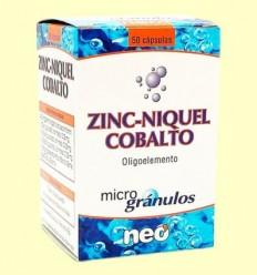 Zinc-Níquel-Cobalt - Neo - 50 càpsules
