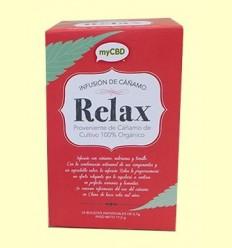 Infusió Relax amb CBD - myCBD - 25 bossetes *