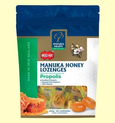 Caramels de Mel de Manuka MGO 400+ amb Pròpolis - Manuka World - 250 grams