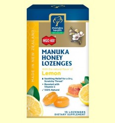 Caramels de Mel de Manuka MGO 400+ amb Llimona - Manuka World - 65 grams