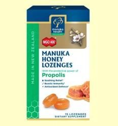 Caramels de Mel de Manuka MGO 400+ amb Pròpolis - Manuka World - 65 grams