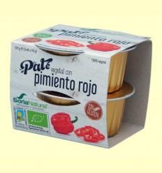 Paté Vegetal de Pebrot Vermell Bio - Soria Natural - 100 grams