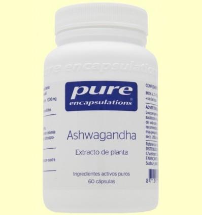 Ashwagandha - Pure Encapsulations - 60 càpsules *