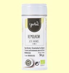 Remolatxa en Pols Ecològica - Yerbal - 50 grams