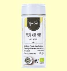 Pebre Negre Mòlta Eco - Yerbal - 50 grams