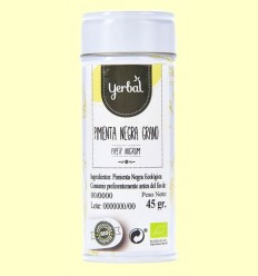 Pebre Negre Gra Eco - Yerbal - 45 grams
