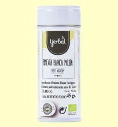 Pebre Blanc Mòlta Eco - Yerbal - 45 grams