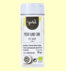 Pebre Blanc en Gra Eco - Yerbal - 50 grams