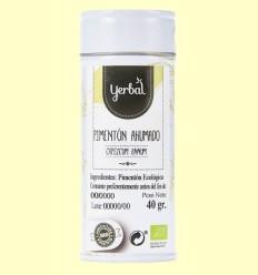 Pebre vermell Fumat Eco - Yerbal - 40 grams