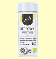 Nou Moscada Ecològica - Yerbal - 40 grams