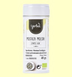 Mostassa groga Mòlta Ecològica - Yerbal - 40 grams