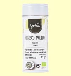 Hibisc Mòlt Ecològic - Yerbal - 35 grams