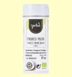 Fenigrec Mòlt Ecològic - Yerbal - 35 grams
