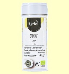 Curry Ecològic - Yerbal -  40 grams