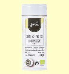 Coriandre Mòlt Ecològic - Yerbal - 28 grams