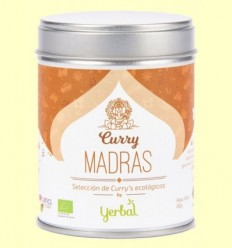 Curry Madras Ecològic - Yerbal -  80 grams