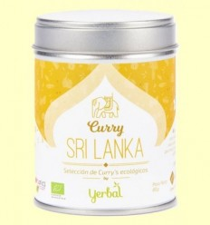 Curri Sri Lanka Ecològic - Yerbal -  80 grams