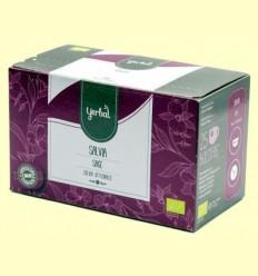 Infusió de Salvia Ecològica - Yerbal - 25 bossetes