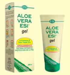 Gel d'Aloe Vera amb Vitamina E i arbre del Te - Laboratoris ESI - 200 ml